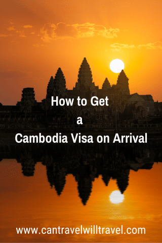 How to Get a Cambodia Visa on Arrival Pin2