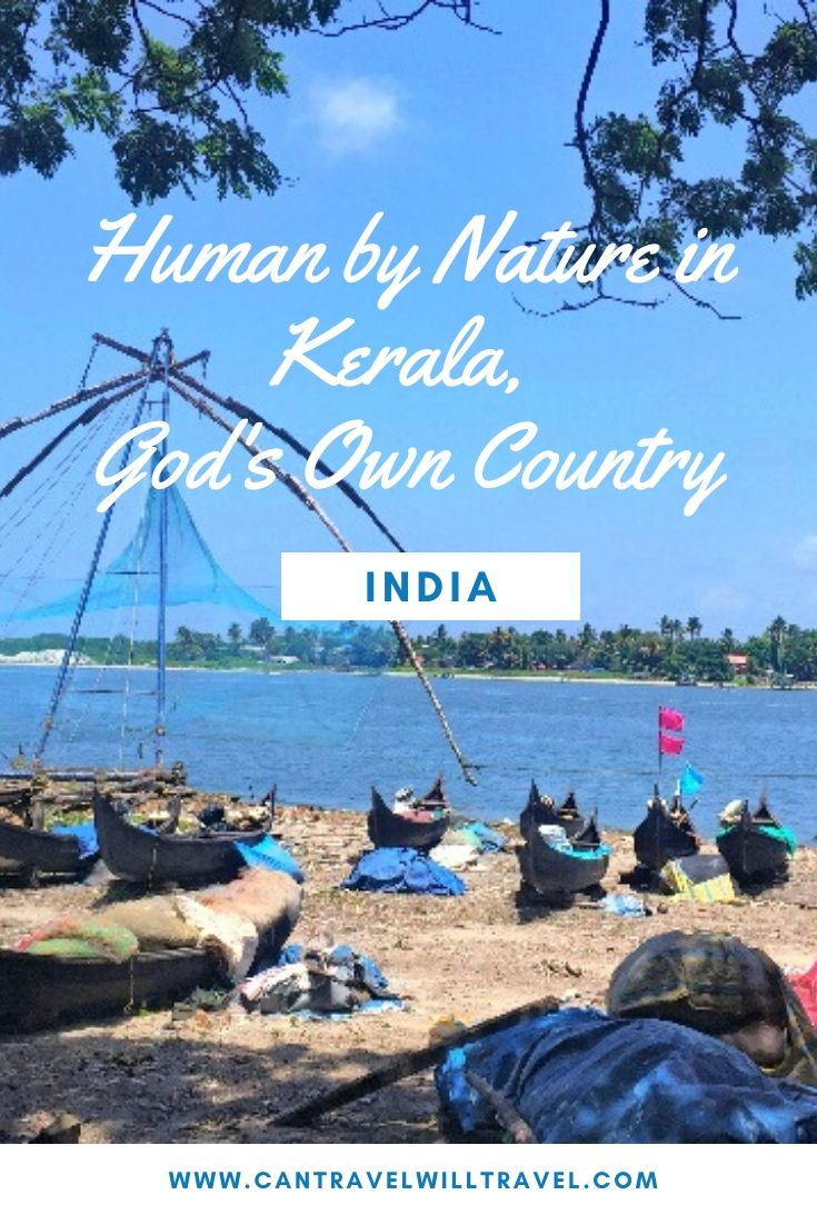 Human by Nature in Kerala, God's Own Country, India Pin 3