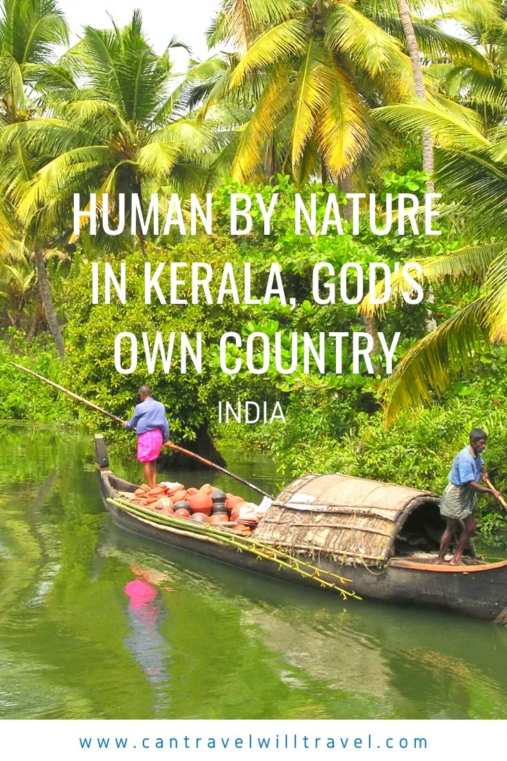 Human by Nature in Kerala, God's Own Country, India Pin 1