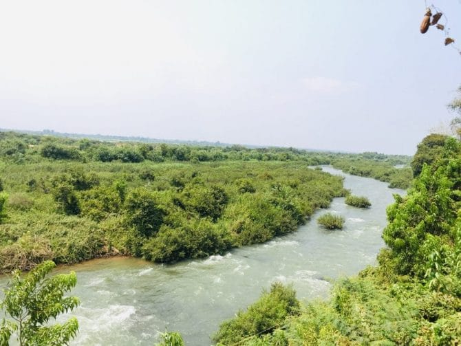 Kampi River Rapids near Kratie