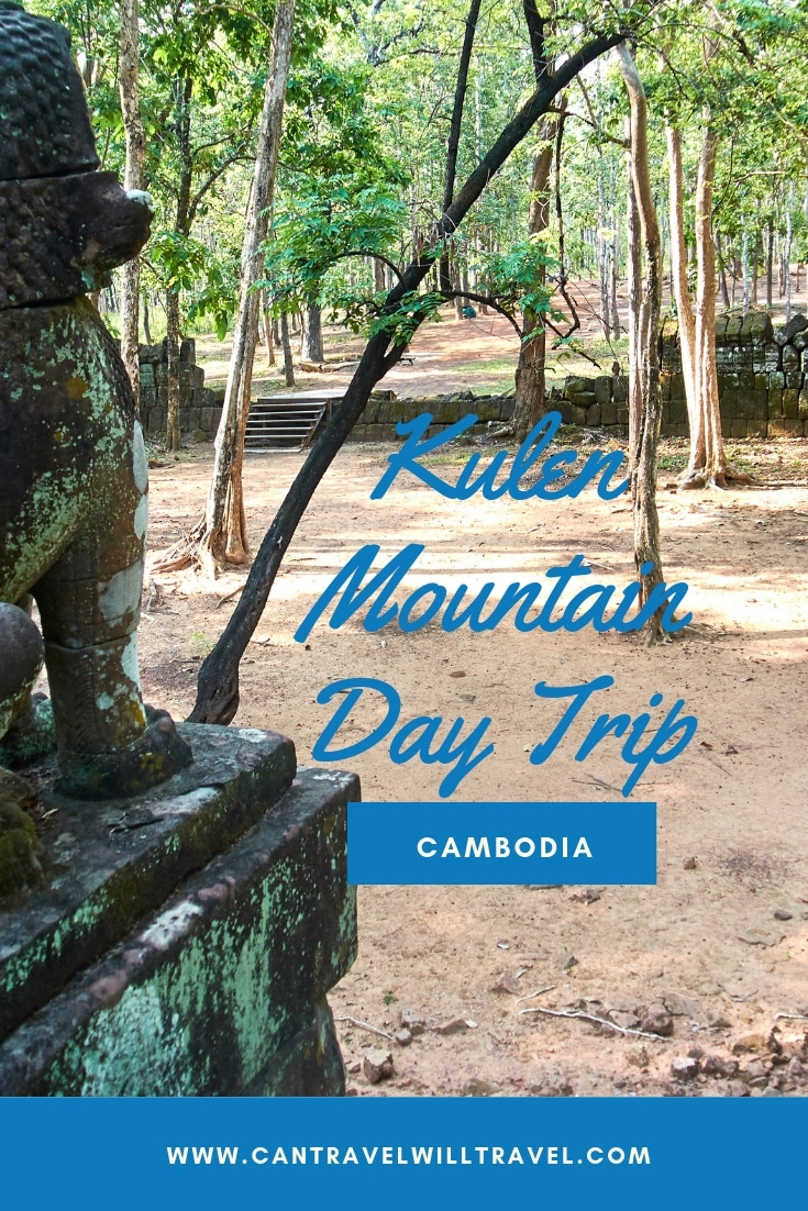 Kulen Mountain Day Trip, Cambodia