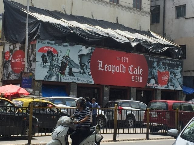Leopald Cafe & Bar on Coloba Causeway in Mumbai