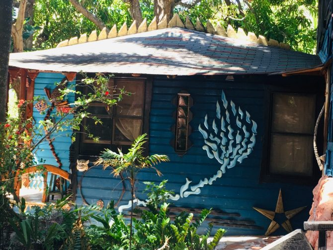 Nightland Cabin at Jade Seahorse on Utila
