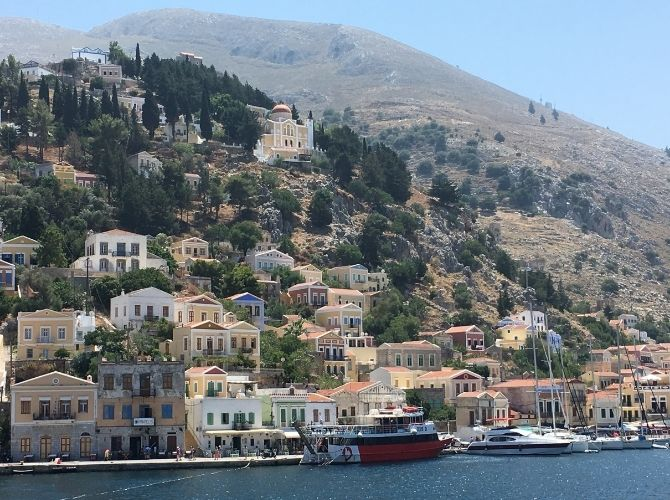 Symi, Dodecanese Islands in Greece