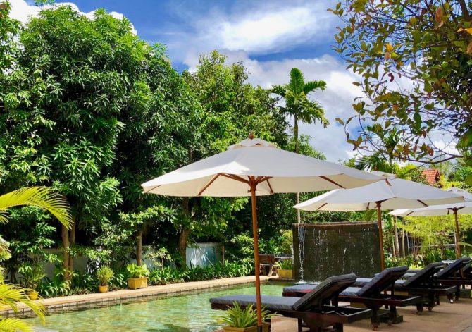 Golden Gecko Villa Swimming Pool in Siem Reap