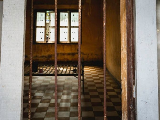 Tuol Sleng Genocide Museum (S21 Prison) in Cambodia