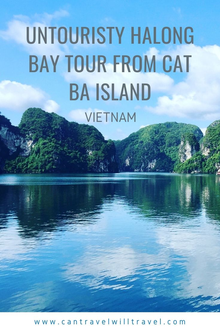 Untouristy Halong Bay Tour from Cat Ba Island, Vietnam Pin4
