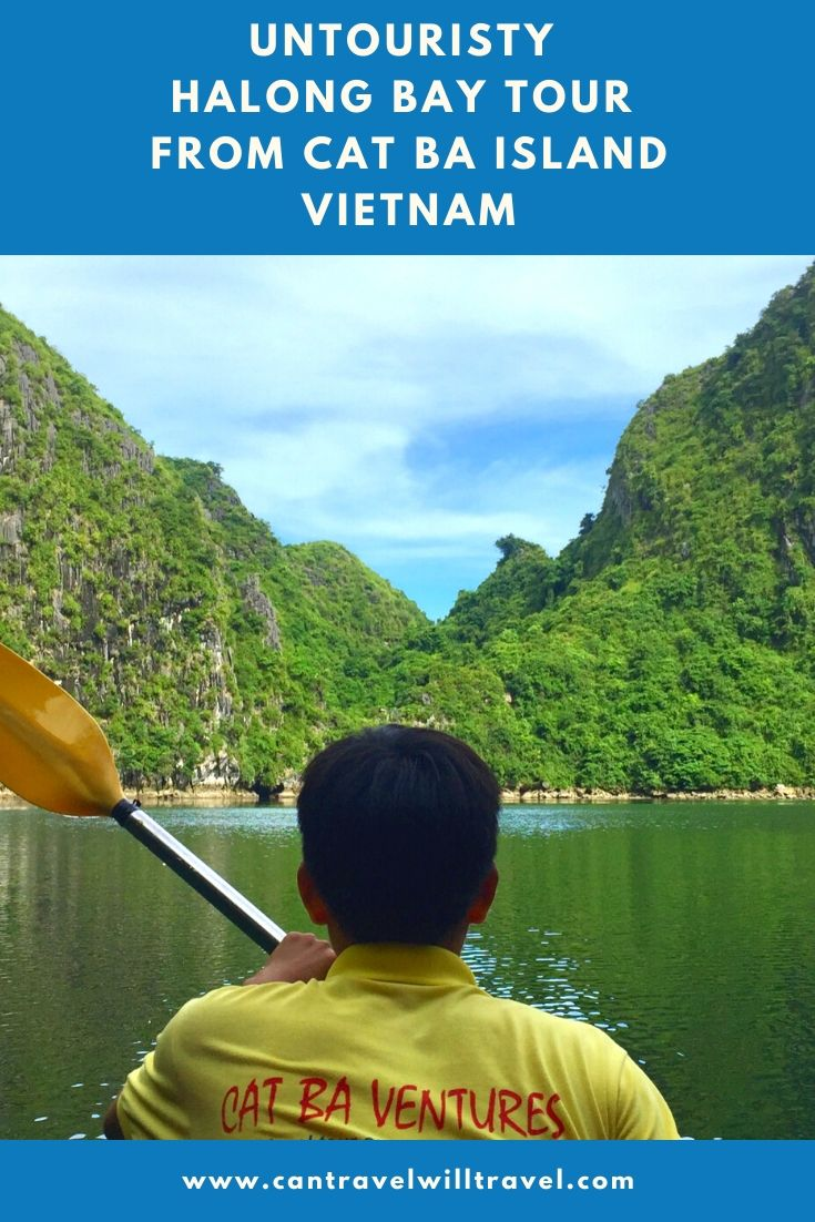 Untouristy Halong Bay Tour from Cat Ba Island, Vietnam Pin5