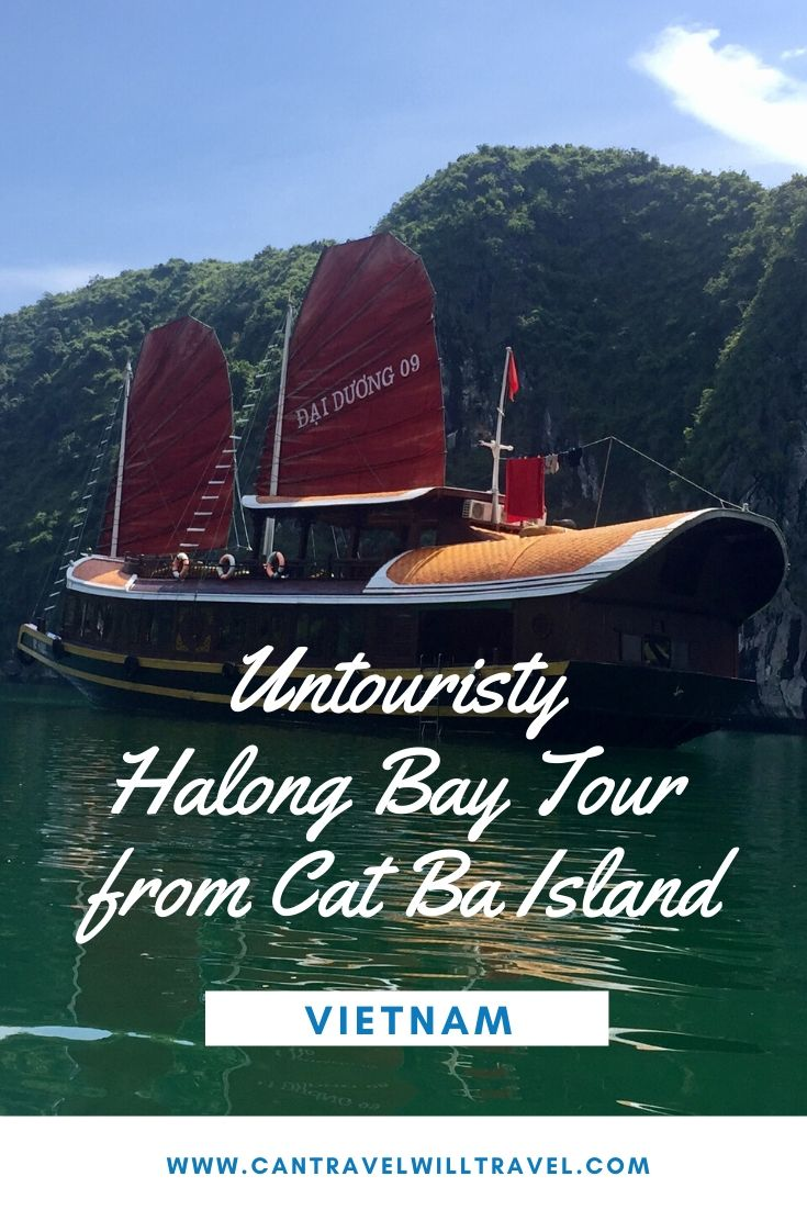 Untouristy Halong Bay Tour from Cat Ba Island, Vietnam Pin6