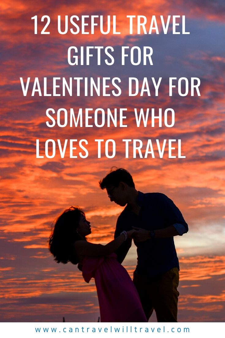 12 Useful Travel Gifts for Valentines Day for Someone Who Loves to Travel Pin1